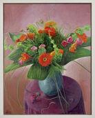 """Bild """"Blumenstrauß mit Gerbera"""" (1997) (Unikat)"""