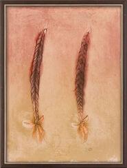 "Bild ""Per Giuletta"" (1989), gerahmt"