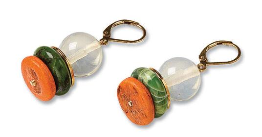 """Petra Waszak: Earrings """"Delaunay"""""""