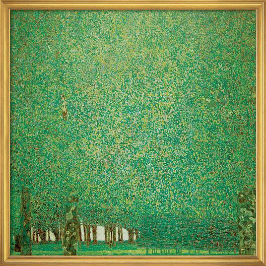"Gustav Klimt: Bild ""Park"" (1909-10), gerahmt"