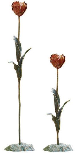 "2 Gartenobjekte ""Tulpen"" im Set"