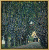"Painting ""Avenue in Schloss Kammer Park"""