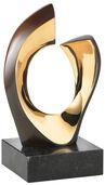 "Skulptur ""Der Kuss"", Bronze"