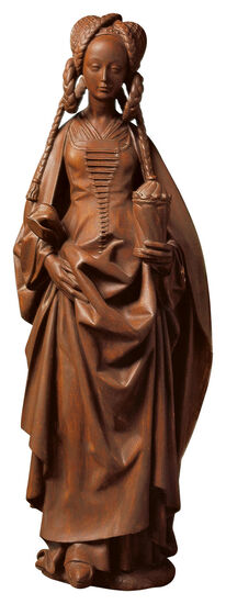 Skulptur ´Heilige Maria Magdalena´, Kunstguss, ...