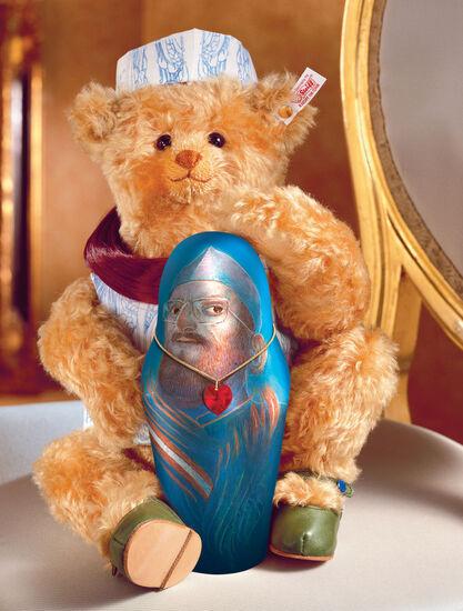 Ernst Fuchs: Steiff-Teddy ´Schatzi´