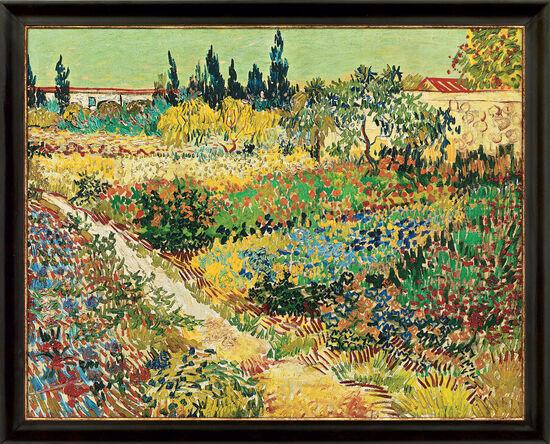 Vincent van Gogh: ´Blühender Garten mit Pfad´, ...