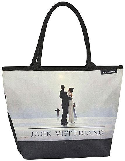 Jack Vettriano: Shoppertasche ´Tanz mit mir´, T...