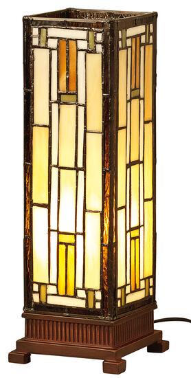 Tiffany-Tischleuchte ´Empire´, kleine Version, Lampe