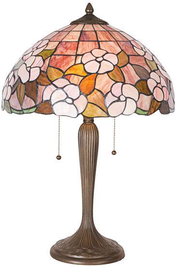 Tiffany-Tischleuchte ´Mayflower´, Lampe