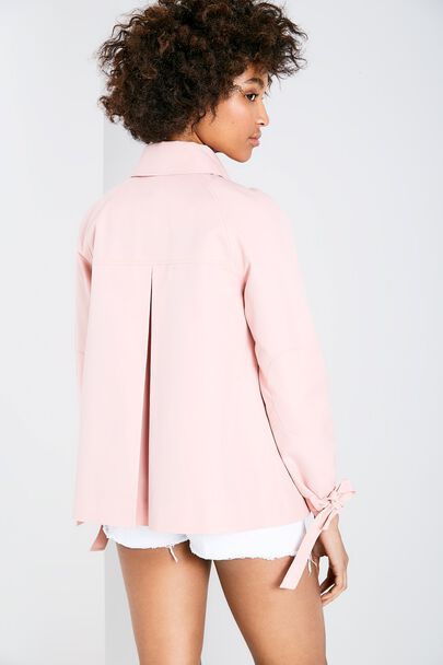 DOLLYHILL SWING TRENCH COATDOLLYHILL SWING TRENCH COAT ROSE