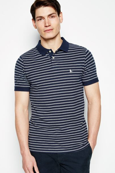 ALDGROVE FINE STRIPE POLO SHIRT