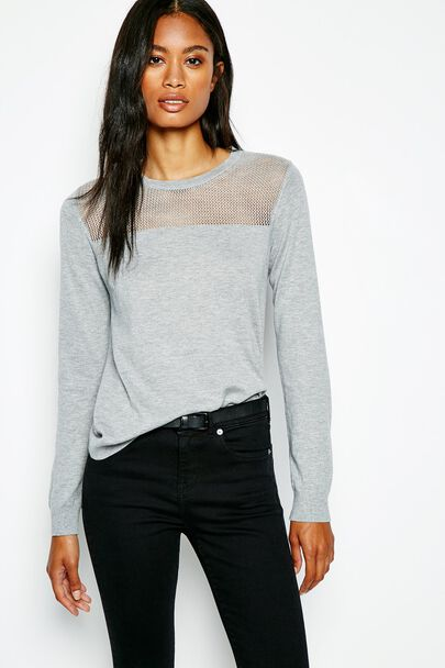 BACKWELL POINTELLE JUMPER