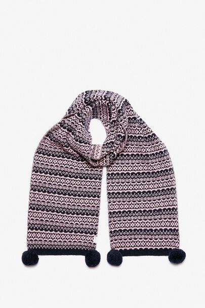 CRATHORN FAIRISLE KNIT SCARF