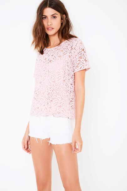 HURLINGTON LACE TEE