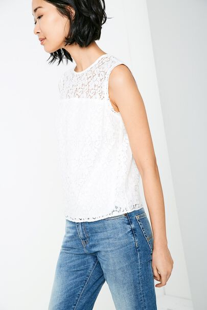 HARDGATES LACE TOP