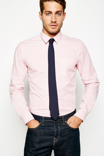 SALCOMBE POPLIN GINGHAM SHIRT