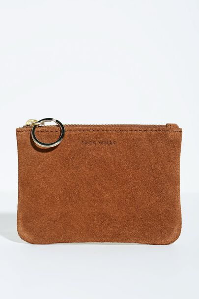 MILLHOLME SUEDE COIN PURSE