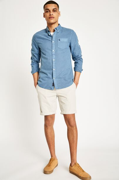 NEWBIGGIN LOW RISE CHINO SHORTS