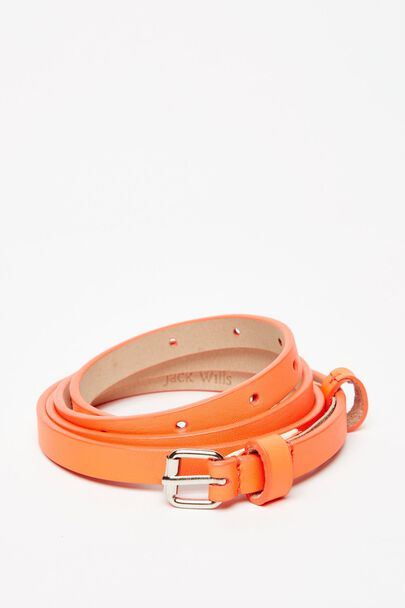 IBWORTH SKINNY LEATHER BELT