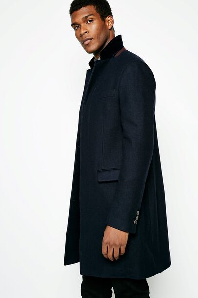THEARNE MELTON OVERCOAT