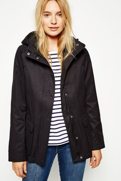 BETCHWORTH 2-IN-1 JACKET WITH GILET BLACK