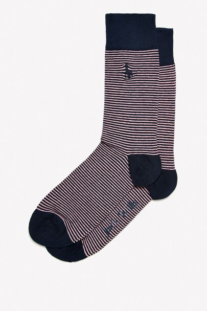 BRAIDLEY STRIPE SOCK