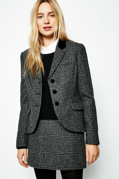 AUSTERBERRY CHECKED BLAZER