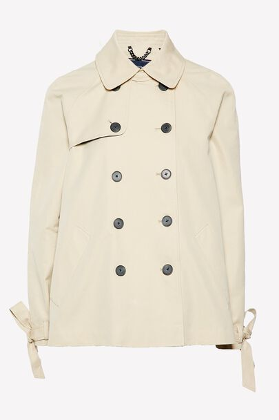 DOLLYHILL SWING TRENCH COATDOLLYHILL SWING TRENCH COAT STONE