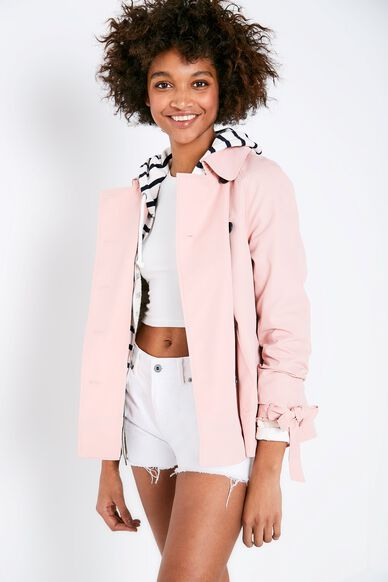 DOLLYHILL SWING TRENCH COAT ROSE