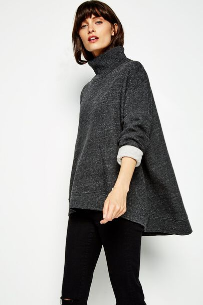 BRIDESTONES FUNNEL NECK SWEATSHIRT