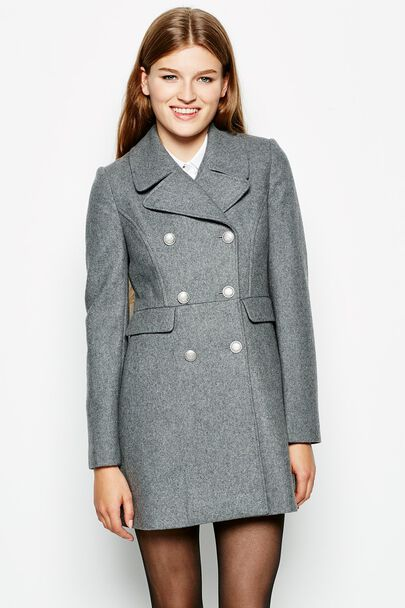 KIBBLESWORTH WOOL COAT