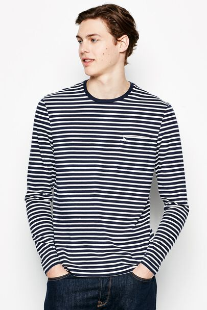 ROSEWOOD STRIPE LONG SLEEVE T-SHIRT