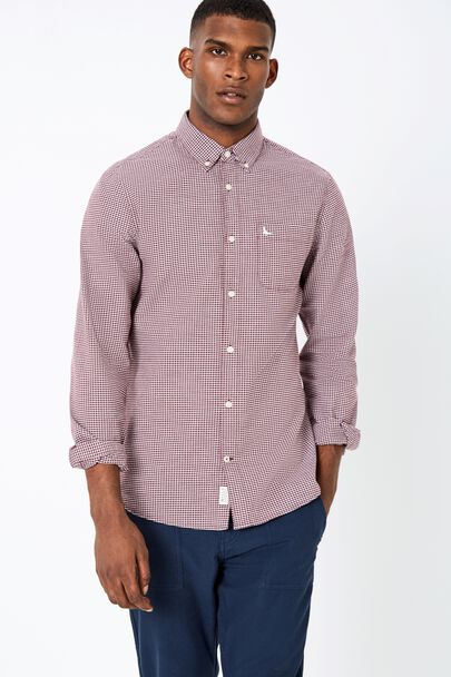 WADSWORTH OXFORD GINGHAM SHIRT