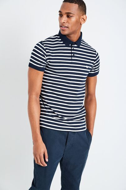 AINSLIE STRIPE POLO SHIRT
