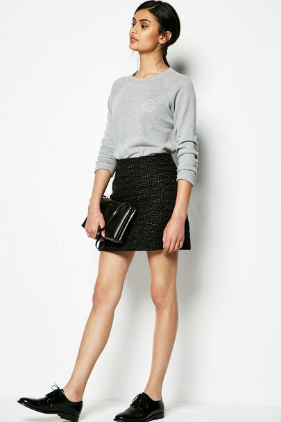 ARNEWOOD TWEED SKIRT
