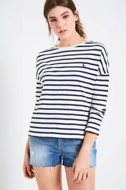 LOXTON STRIPED LONG SLEEVE T-SHIRT
