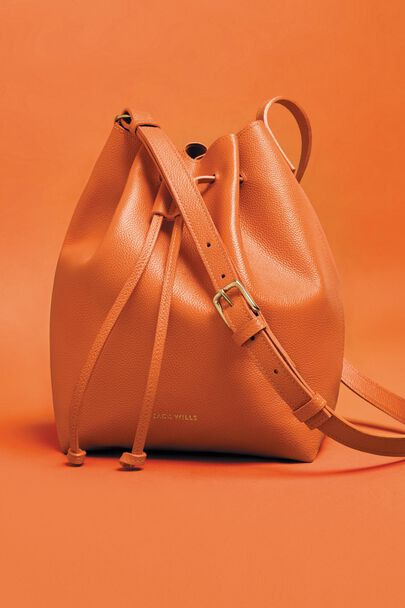 WITNEY LEATHER BUCKET BAG
