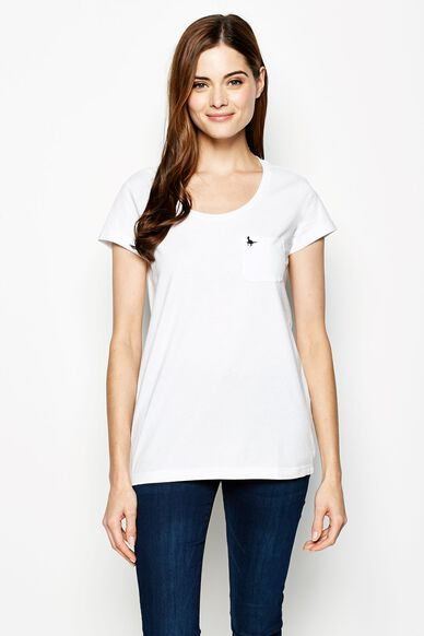 FULLFORD TEE WHITE