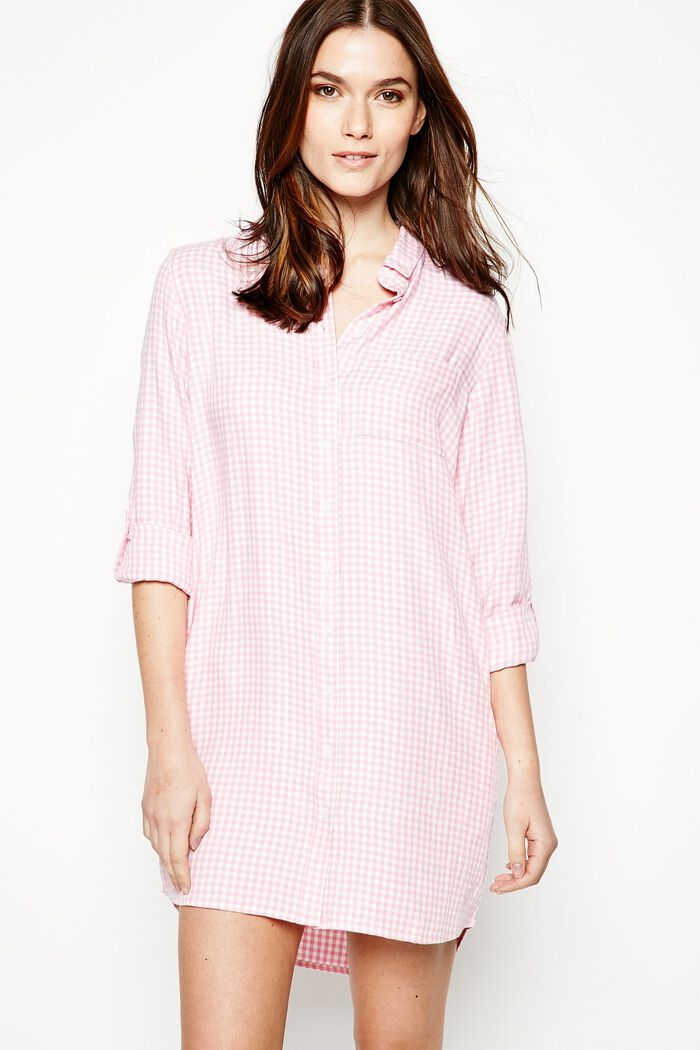 Product photo of Dress maggie shirt pink white