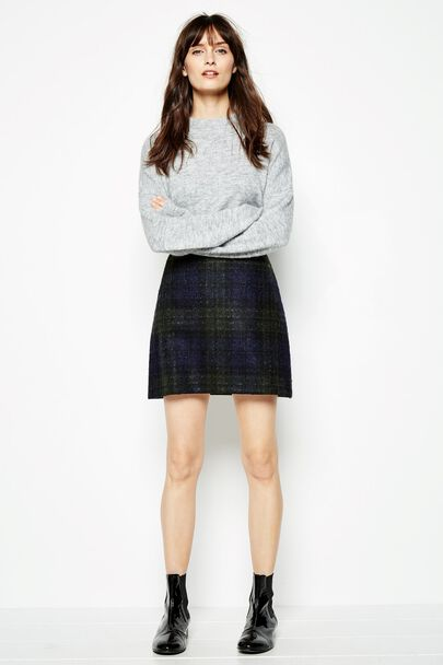 ARNEWOOD CHECKED SKIRT