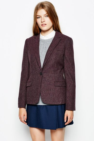 FAIRLAWN BLAZER DAMSON