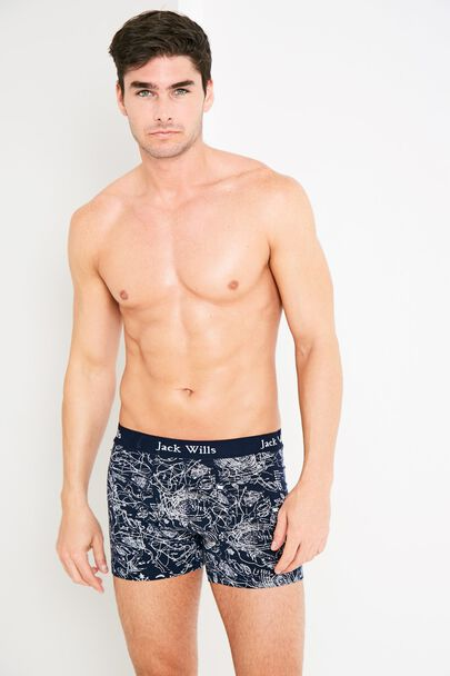 BRIDGENORTH MAP PRINT BOXER SHORTS