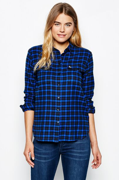 LARADIN OVERSIZED FLANNEL SHIRT