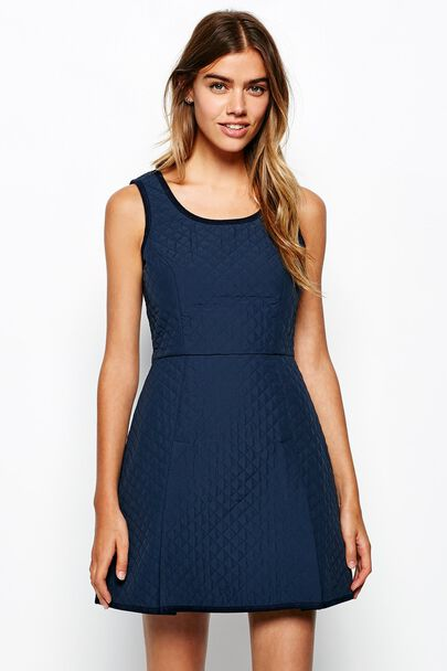 UBLEY QUILTED DRESS