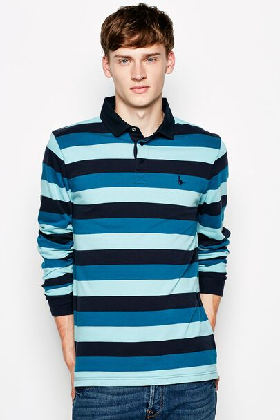 NANTWICH STRIPED RUGBY SHIRT