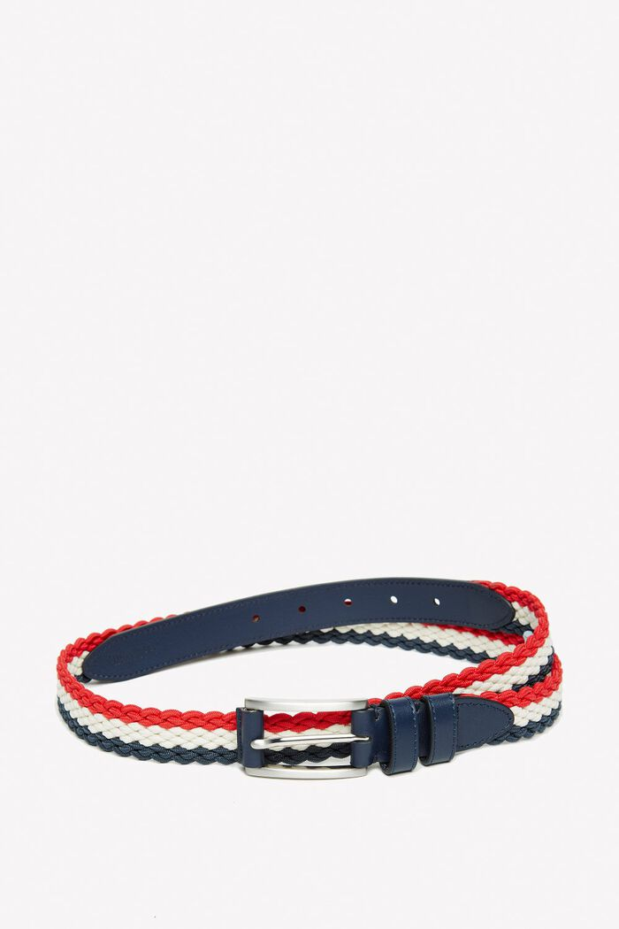 Product photo of Colston woven belt red navy