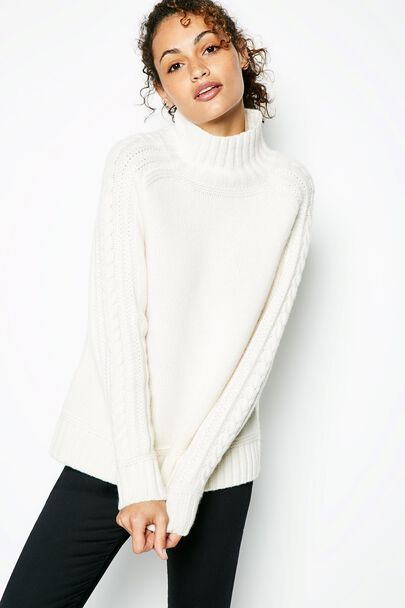 AIDENBAY ROLL NECK JUMPER