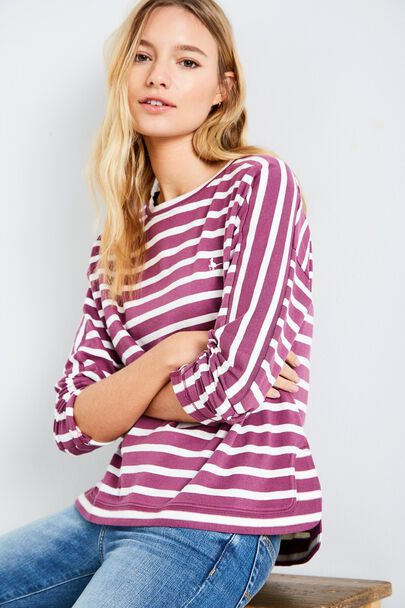 CHOSELEY BOXY STRIPED TOP