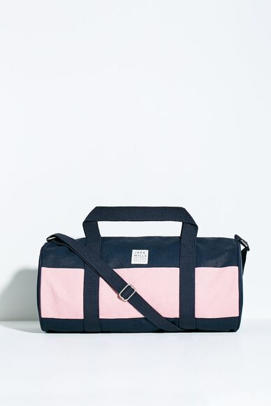 LEDBROOK GYM BAG PINK NAVY