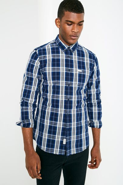 BLANFORD POPLIN CHECK SHIRT